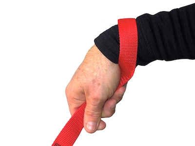 3. Wrap your hand around the loop