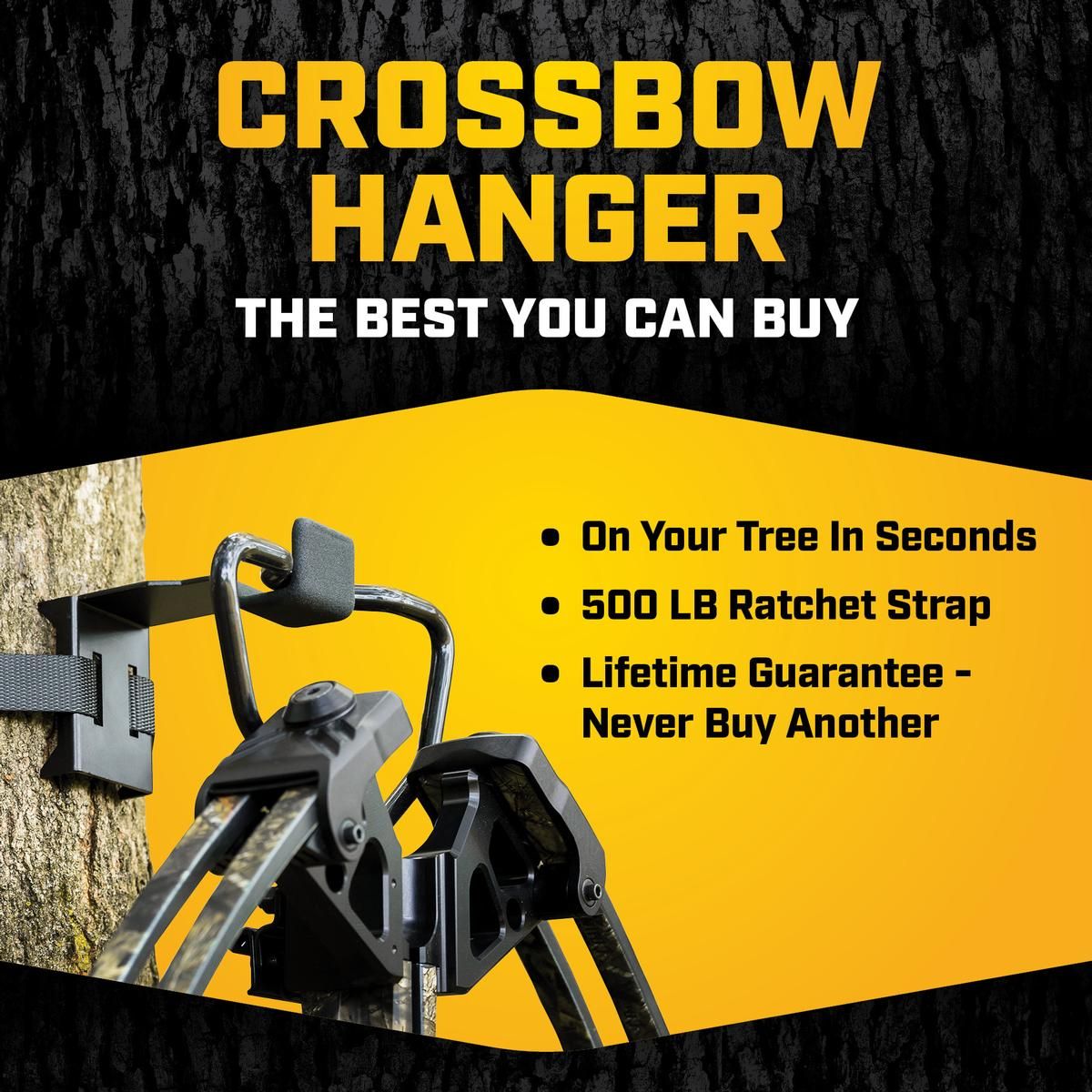 CROSSBOW HANGER - On Your Tree In Seconds