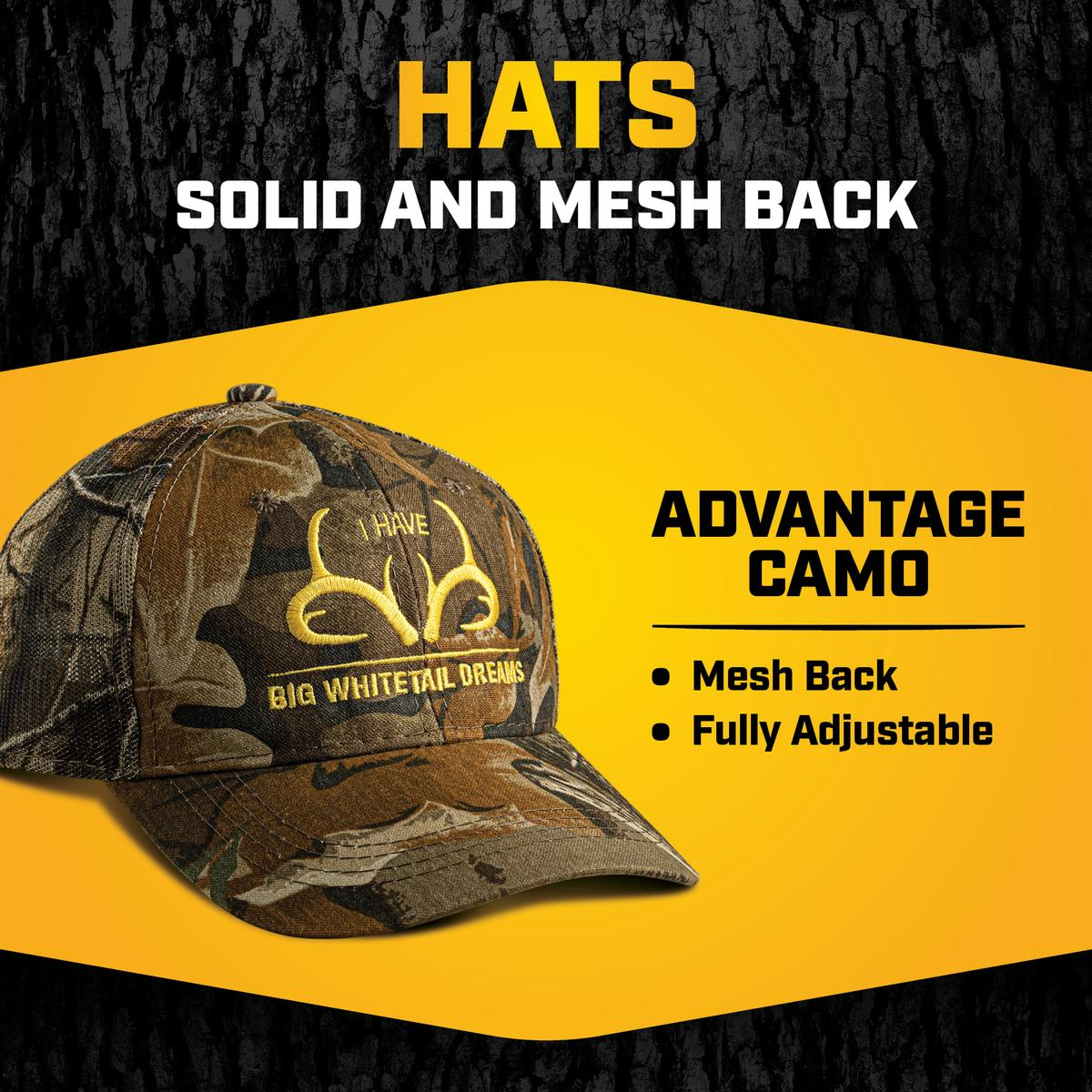 HATS - SOLID & MESH BACK