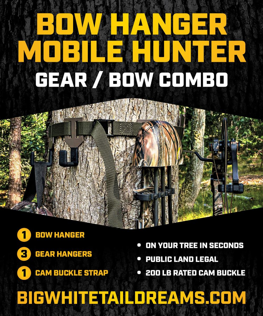BOW HANGER MOBILE HUNTER - GEAR / BOW COMBO