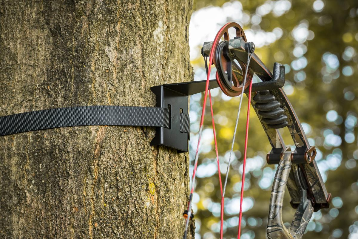 Details about  /Archery Bow Hook RealTreestand Bow Hangers Bow Gear Holder Outdoor Hunting Acces