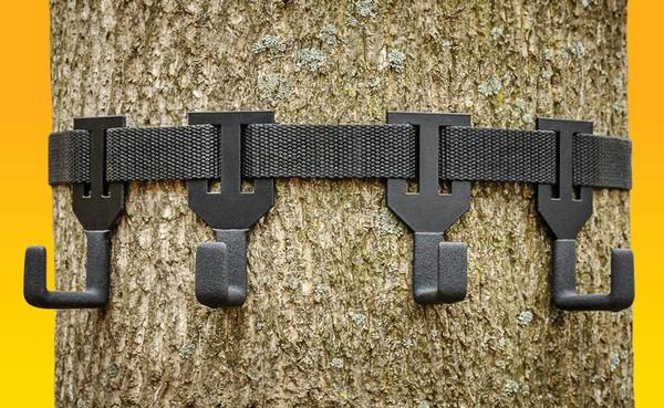 Treestand Gear Hanger - On Your Tree In Seconds